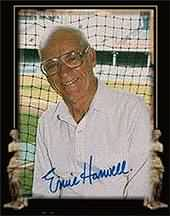 Hall of Famer Ernie Harwell